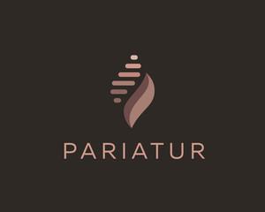 Abstract universal premium logo design. Creative vector symbol.
