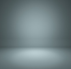 gray blue gradient abstract background rendering