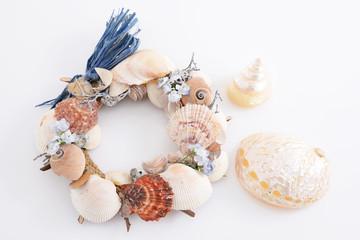 貝殻のリース