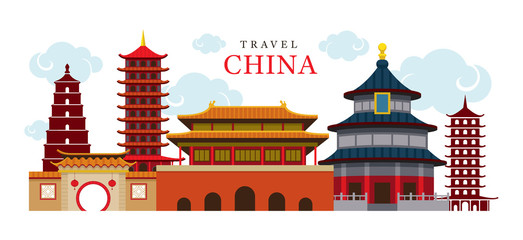 Travel China Building and City, Destination, Attraction, Traditional Culture