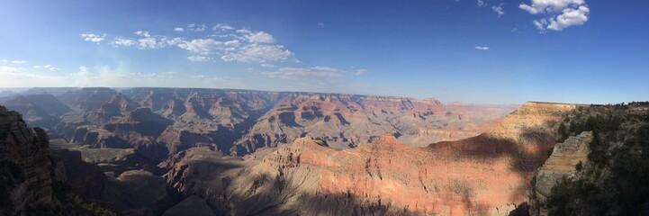 Blick über den Grand Canyon vom South Rim aus gesehen
