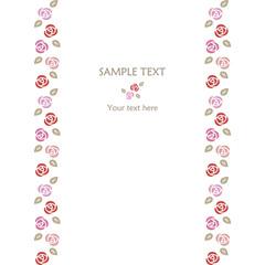 Rose frame-Line