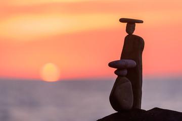 Symbolic figurines of stones