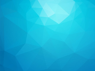 abstract triangular blue ice background