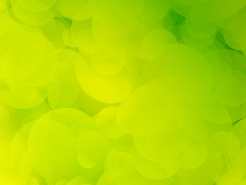 yellow green background