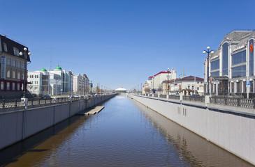 Канал Булак. Казань, Россия