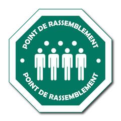 Logo point de rassemblement.