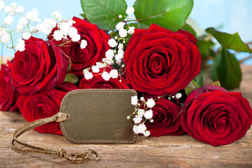 Rosen als Geschenk