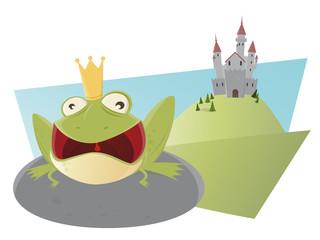 frosch könig märchen schloss