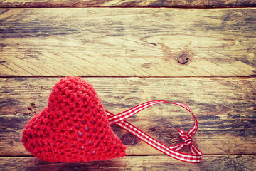 Valentine's Day heart crochet