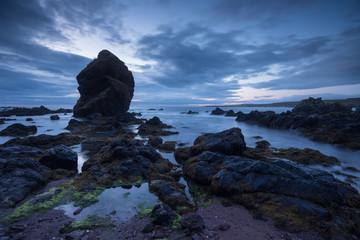Scotland st. abbs beach