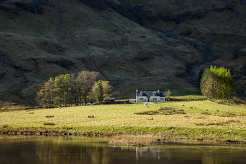 Scotland glencoe cottage