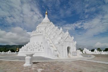 Stupa birmańska Hsinbyume  w Mingun