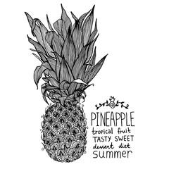 Pineapple Sweet Tropical Fruit