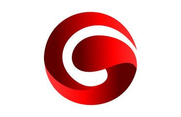 Logo Letter  G splash