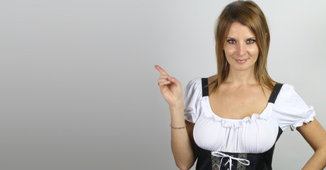 sexy bavarian posing