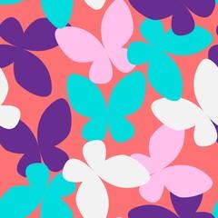 Butterfly Seamless Pattern 04