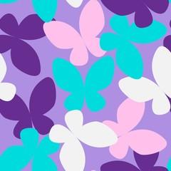 Butterfly Seamless Pattern 03