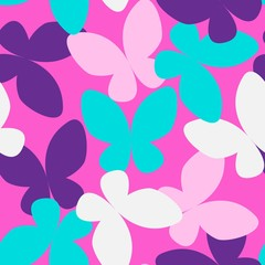 Butterfly Seamless Pattern 01