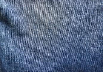 Потертая джинсовая ткань
