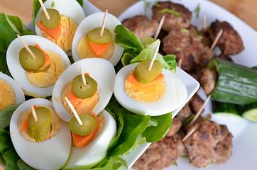 Eier fürs Buffet