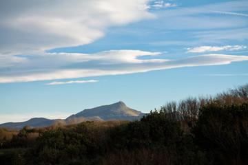 symbol of basque country - La Rhune