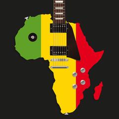 Guitare électrique - Afrique
