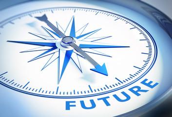 Weißer Kompass - Future
