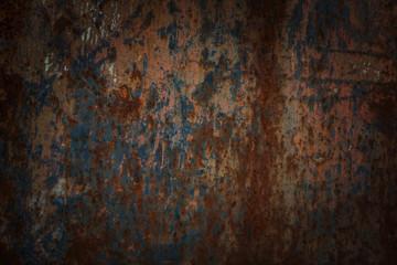 Metal rust texture