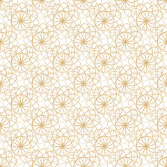 Abstract vector lace seamless pattern