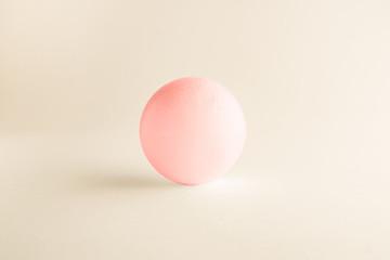 ピンクの球