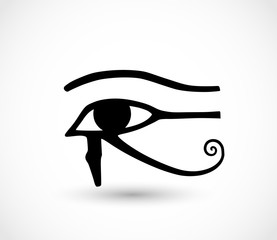 Horus eye icon vector