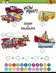 math educational task for children