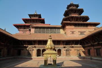 Palais Royal de Patan - Durbar Square - cour intérieure