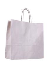Shopping bag isolated on white