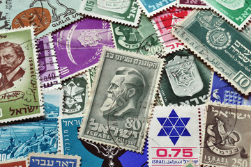 Israel on stamps
