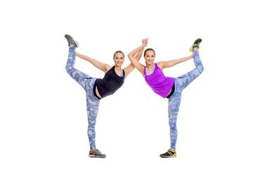 gymnastic duo