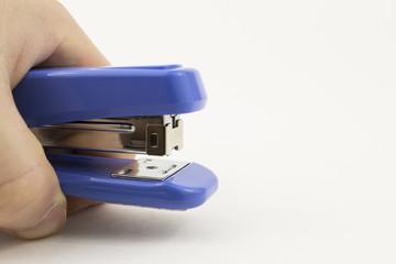 office stapler on a white background