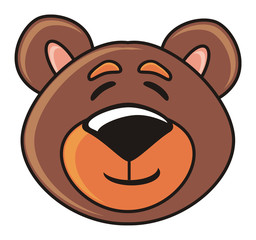 bear laughs