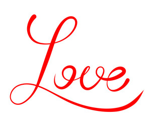Word Love script