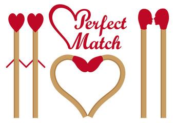 Perfect match, vector set