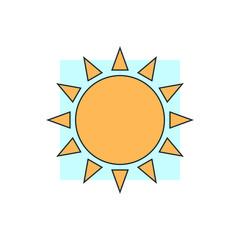sun meteo icon