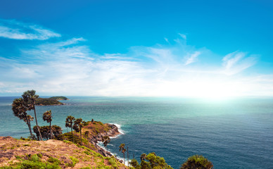Famous view point and landmark in Phuket island Thailand