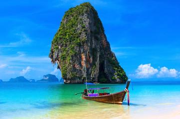 Wall Murals Island Summer beach tropical landscape Thailand island scenic background