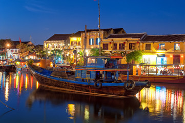 Hoi An Vietnam old town night photography