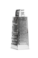 shiny stainless steel cheese grater