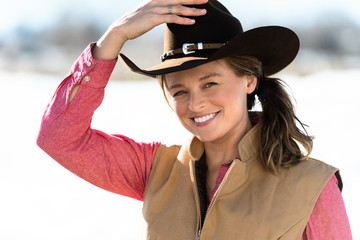 Cowgirl Adjusting Hat