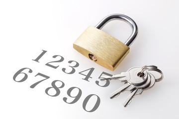 パスワード マイナンバー イメージ Password number image