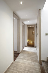Elegant house interiors hallway