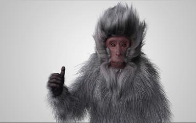 猿 グッジョブ